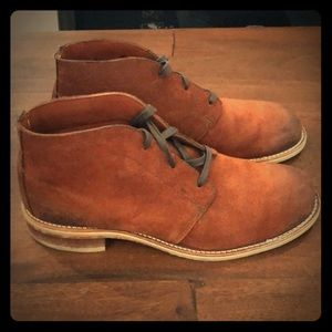 Brown Wolverine 1000 mile boots
